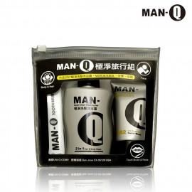 image of MAN-Q 極淨旅行組M2檸檬控油洗面乳30ml+極淨洗髮沐浴露100ml+牙膏、牙刷  Man - Q Gloss Styling Wax