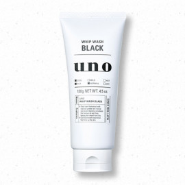 image of 日本 SHISEIDO 資生堂 UNO 新炭洗顏 130g   Japan SHISEIDO UNO Whip Wash Black 130g