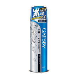 image of 日本 GATSBY 冰漩爽身噴霧 極凍冰橙209ml  Japan GATSBY Ice Deodorant Spray Ice Citrus 209ml
