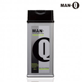 image of MAN-Q 全效潔淨露S 2柑橘薄荷350ml    MAN-Q All In One Speedy Wash Hair,Face&Body 350ml
