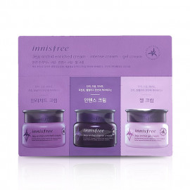 image of 韓國 innisfree 濟州寒蘭滋養旅行3件組   Korea Innisfree Jeju Orchid Enriched Cream Intense Cream And Gel Cream