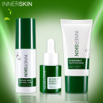 INNER SKIN淨顏煥膚三酸三對策   INNER SKIN Repair Skin Refining Toner,Intensive Renewal Essence & Overnight Soothing Mask