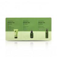 image of 韓國 innisfree 濟州綠茶保養3件旅行組(day care)   Korea innisfree green tea day care kit