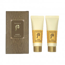 image of 韓國 WHOO 后 拱辰享活膚清顏2件組(洗顏乳+清顏霜)   Korea The History Of Whoo Facial Cleanser (2 item)