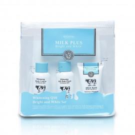 image of 泰國 SCENTIO Q10牛奶淨白保濕旅行組   Thailand SCENTIO Q10 Milk Plus Bright White Set