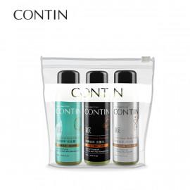 image of CONTIN 康定 酵素植萃旅行組(洗髮乳/沐浴乳/洗面露 60ml) CONTIN Enzyme Plant Extract Travel Set 60ml