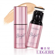 image of 【LEGERE 蘭吉兒】珍珠光采美白氣墊粉棒 SPF50+ PA+++  LEGERE Brightening Effect Cover Cushion SPF50+ PA+++