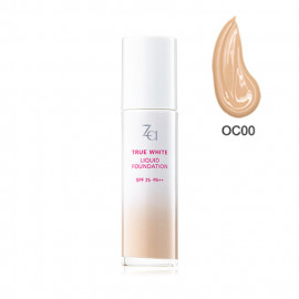 image of 日本 SHISEIDO 資生堂 Za 美白聚光粉底精華 25mL #.OC00   Japan SHISEIDO Za True White EX Liquid Foundation SPF25 PA++ 25ml #.OC00
