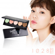 image of 1028 勻肌色!熱銷零瑕組   1028 Visual Therapy Corrector Palette