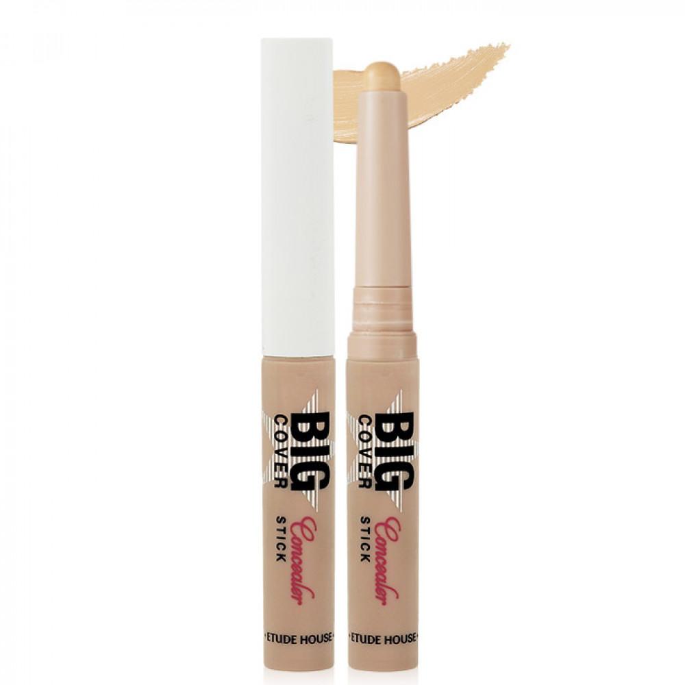 韓國 ETUDE HOUSE 萬飾如易 零缺點遮瑕棒 2g 自然膚   Korea ETUDE HOUSE Big Cover Stick Concealer 2g Beige