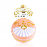 image of 日本 MAJOLICA 戀愛魔鏡 粉嫩魔法腮紅 7g OR302  Japan Majolica Majorca Makeup Puff de Cheek Blush Powder [OR-302 apricot macaroon]