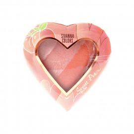 image of Sivanna HF-8102 美人心姬蜜桃腮紅 12g #03金桔蜜戀  Sivanna Colors HF-8102 Sweet Peach Blush 12g #03