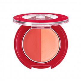 image of 日本 SHISEIDO 資生堂 INTEGRATE 絕色魅影 微醺雙色頰彩霜 2.7g #.OR381  Japan Shiseido INTEGRATE Melty Mode Cheek Duo Color Blusher 2.7g #.OR381