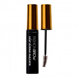 image of MAYBELLINE 媚比琳 完眉持久染眉膏焦糖棕 7.7ml  Maybelline Fashion Brow Color Drama Mascara 7.7mL # Yellow Brown