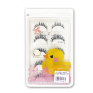 image of 撥撥小姐 Miss Bowbow D系列 假睫毛 五對入 黃色小鴨款   Miss Bowbow D Series EYELASHES Rubber Duck