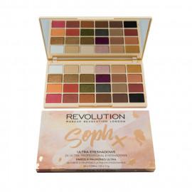 image of 英國 Makeup Revolution X Soph 24色桃花眼影盤     United Kingdom Makeup Revolution X Soph Eyeshadow Palette
