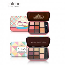 image of Solone 經典特調眼彩盒 (兩色可選)  Solone Classic Eyeshadow Kit