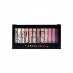 Sivanna HF202 12色珠光霧光眼影盤 01光艷紅塵 Sivanna HF202 Sivanna Colors Makeupstudio Deluxe Eyeshadow