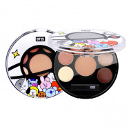 image of 韓國 VT*BT21 星球眼影盤 01.MOOD BROWN   Korea VT*BT21 EYESHADOW PALETTE #01 MOOD BROWN