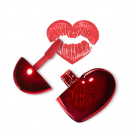 image of 韓國 the saem 心形持久顯色唇釉 03.Love Motion  Korea The Saem Love Me Coating Tint #03.Love Motion