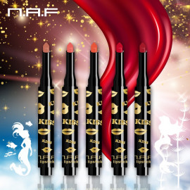 image of NAF 海妖唇印口紅按壓筆(啵啵水滴型) (多款可選)  【N.A.F】Kiss Lipstick Pen