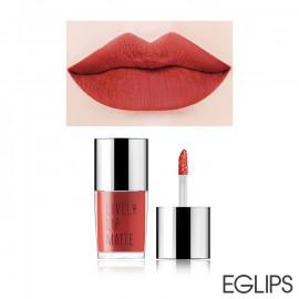 image of 韓國 Eglips 香氛絲絨保濕霧色唇釉 5g LM007紅橙珊瑚  Korea Eglips Lively Lip Matte 5g #LM007 Reddish Coral Matte