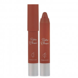 image of 韓國 FORENCOS 玫瑰精華霧面持久復古色脣蠟筆 2.5g #.06 RETRO CARMINE   Korea FORENCOS Retro Classic Lip Crayon 2.5g #.06 RETRO CARMINE