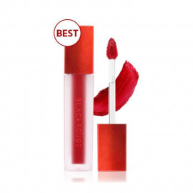 image of 韓國 BLACK ROUGE 心動絲絨霧面唇釉 3.5g A01  Korea BLACK ROUGE Air Fit Velvet Tint 3.5g #A01 A Piece Strawberry