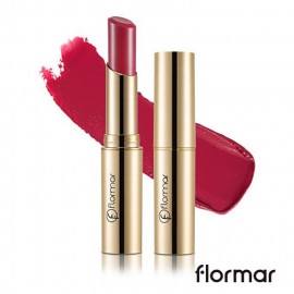 image of 法國 Flormar 危險巴黎 奢華絲絨唇膏 3g #.DC23 挑逗  France Flormar Deluxe Cashmere Lipstick 3g #.DC23