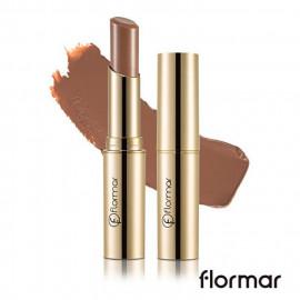 image of 法國 Flormar 危險巴黎 奢華絲絨唇膏 3g #.DC21 赤裸  France Flormar Deluxe Cashmere Lipstick 3g #.DC21