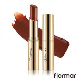 image of 法國 Flormar 危險巴黎 奢華絲絨唇膏 3g #.DC29 危險  France Flormar Deluxe Cashmere Lipstick 3g #.DC29