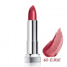 image of MAYBELLINE 媚比琳 極綻色金屬霧光唇膏60石英紅 3.9g  MAYBELLINE New York Color Sensational Matte Metallic Lipstick 3.9g #60 Fire Quartz