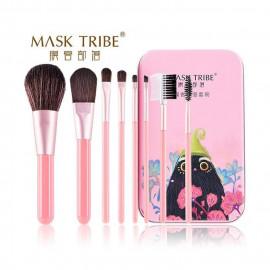 image of MASK TRIBE 膜客部落炫粧新潮八枝刷具組 #粉眼鶯   MASK TRIBE Makeup Brushes Set #Pink