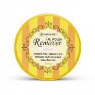 image of NICKA K 妮卡 卸甲棉片32片入 檸檬香12ml  NICKA K New York Nail Polish Remover 32 Pcs 12ml #Lemon