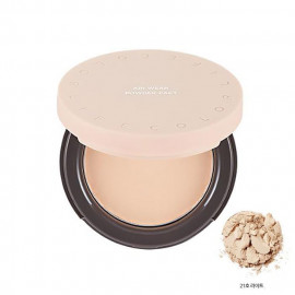 image of 韓國 Its skin 自由作主輕薄蜜粉餅 13g 21號   Korea Its skin Life Color Air Wear Powder Pact 13g #No.21