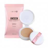 image of 1028 彈力保濕絲襪粉餅(補充包) SPF30 PA++ 10g #.02 自然膚   1028 VISUAL THERAPY Unseen Mesh Compact Pressed Face Powder SPF30 PA++ 10g #.02 Natural Beige