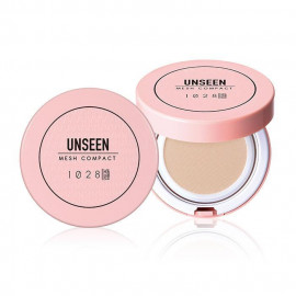 image of 1028 彈力保濕絲襪粉餅 SPF30 PA++ 10g #.01明亮膚  1028 VISUAL THERAPY Unseen Mesh Compact Pressed Face Powder SPF30 PA++ 10g #.01 Light Beige