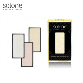 image of Solone 女神光打亮餅 (三色可選)  Solone Makeup & Beauty Glowing Goddess Highlighter