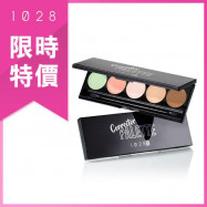 image of 1028 臉部修修 校色遮瑕盤 1.2gX5色  1028 VISUAL THERAPY Face Corrector Palette 1.2gX5 color