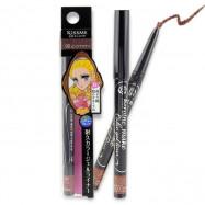 image of 日本 Kiss Me 奇士美 花漾美姬 淚不落絲滑瞬色眼線膠筆 0.1g #.02自然棕   Japan Kiss Me Heroine Make Color Gel Eyeliner Pencil 0.1g #.02