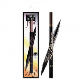 image of Sivanna BR-1885 雙色眼眉兩用液線筆  Sivanna Colors 2in1 Long Lasting Eyeliner Sivanna BR-1885
