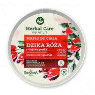 image of 歐洲 Herbal Care 身體滋養霜 200mL #.野玫瑰  Europe Herbal Care Body Nourishing Cream 200mL # Dzika Roza
