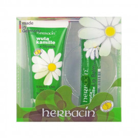 image of Herbacin 德國小甘菊 美唇護手組合(護手霜+護唇膏) #.滋潤   Herbacin wuta Kamille Glycerine Hand Cream + Lip Balm