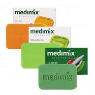 image of MEDIMIX 印度綠寶石皇室藥草浴 美肌皂125g 三款可選    Medimix Ayuevedic Bathing Soap 125g