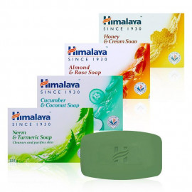 image of 印度 Himalaya 喜馬拉雅 保濕香皂 125g 四款可選     India Himalaya Moisturizes  Soap 125g