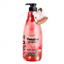 image of 泰國Scentio 緊緻彈力茄紅沐浴乳   Thailand Scentio Tomato Lycopene & Nano Multi Vitamin Bath Cream