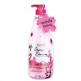 image of 泰國Scentio 亮白柔嫩初櫻沐浴乳   Thailand Scentio Cherry Blossom Lightening & Smooth Bath Cream