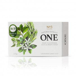 image of ONE 煥采極淨美肌皂 135g   ONE Deep Cleansing Face & Body Soap 135g
