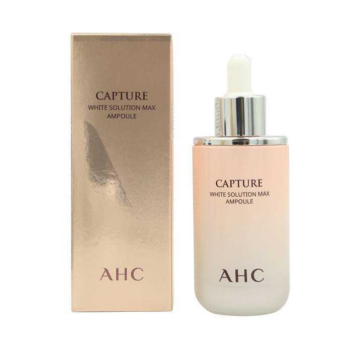 image of 韓國 AHC 駐顏安瓶精華 50ml 提亮(粉色)    Korea AHC Capture White Solution Max Ampoule