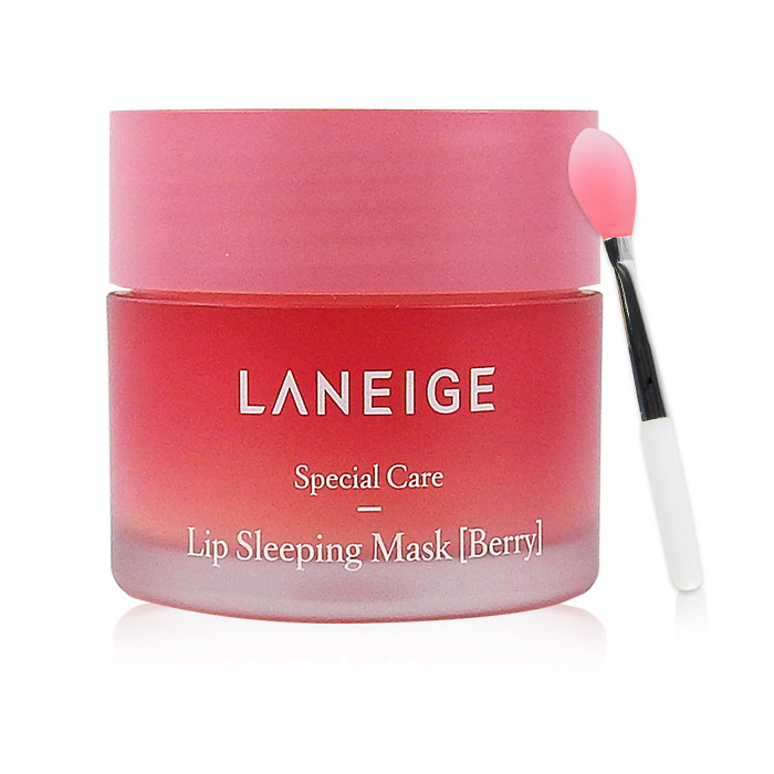 image of 韓國 LANEIGE 蘭芝 晚安唇膜 20g      Korea LANEIGE Sprecial Care- Lip Sleeping Mask (Berry)